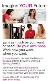 Selling Avon Products