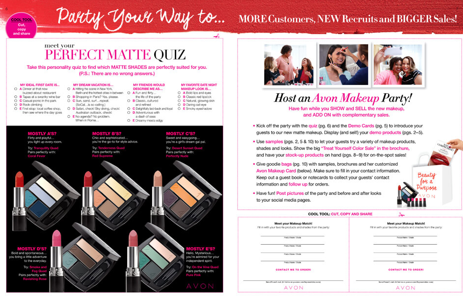 Have an Avon Makeup Party