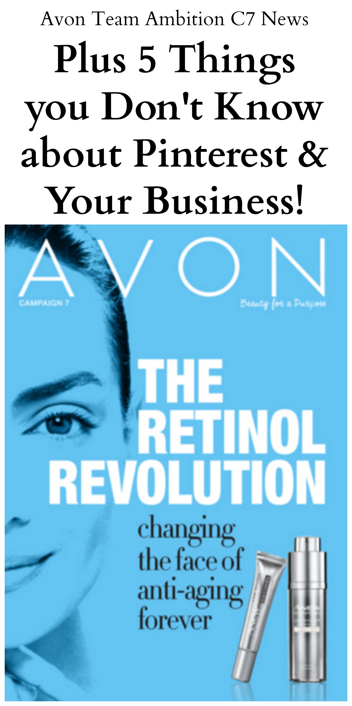 Avon Team Ambition Campaign 7 2016 News Letter